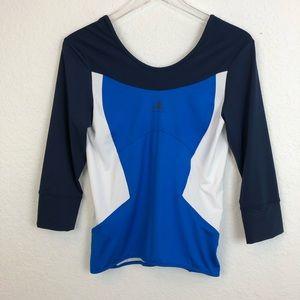 Adidas x Stella McCartney | 3/4 Sleeve Workout Top